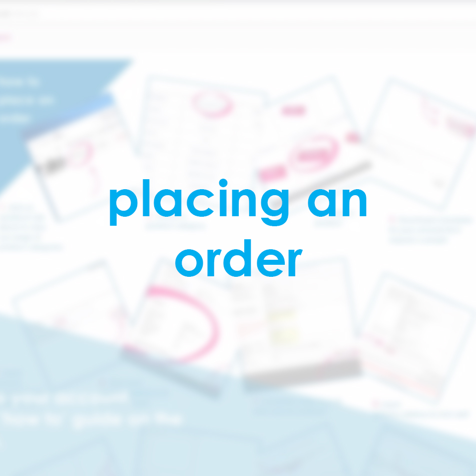 placing an order